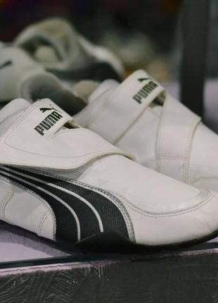 Кроссовки на липучке puma