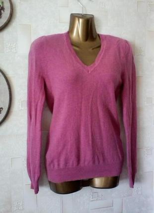 Кашемировый свитер джемпер, кашемир 100%, от f&f, разм. 42