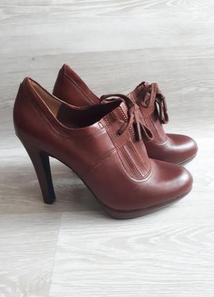 Кожаные туфли autograph / кожаные ботильоны /1+1=3