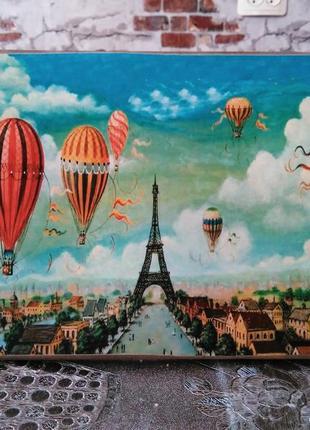 """Картина """"воздушный париж"""""""
