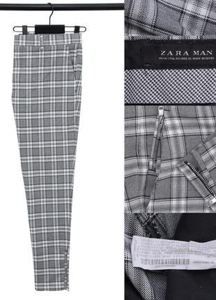 Зауженные брюки zara man