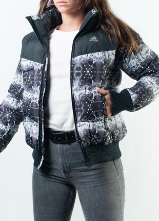 Тёплая зимняя оригинальная куртка adidas