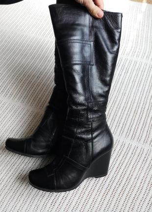 Шкіряні натуральні зимові чоботи