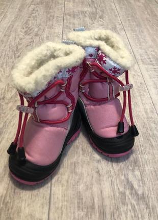 Зимний сапоги ботинки