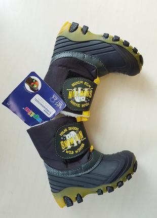 Німецькі термо черевики для хлопчика lupilu 25 р.
