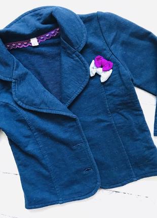Детский пиджак рост 80