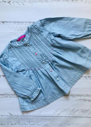 Детская рубашка кофта рост 80