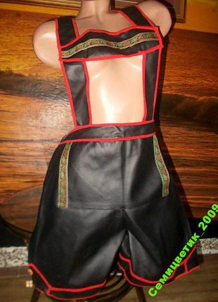 Карнавальный костюм из кожзама 48-52 размера бавария пивной фестиваль