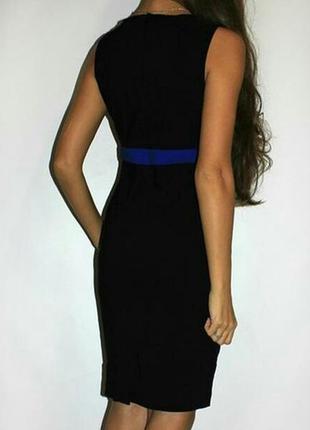 Классное английское бандажное утягивающее брендовое платье миди