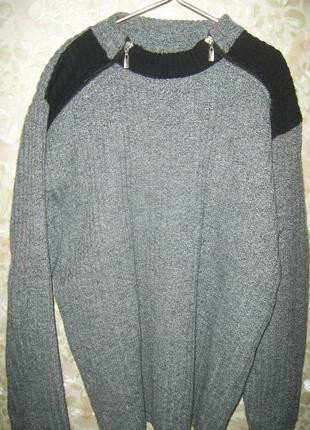 Свитер зимний мужской. фото №6 свитер зимний мужской.