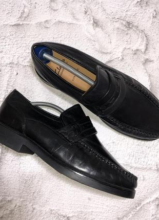 Туфли clarks кожаные