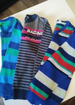 Кофты,свитерки для мальчика 4-6лет