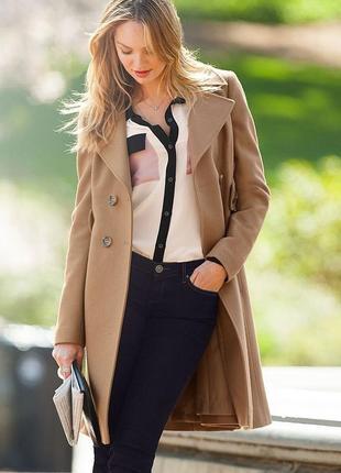 Victoria's secret wool coats очень тёплое шерстяное пальто оригинал