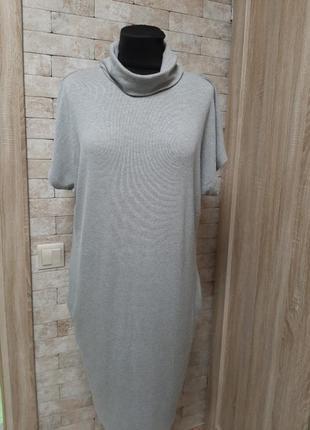 Свободное платье из плотного  трикотажа