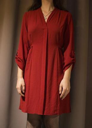 Красное платье f&f