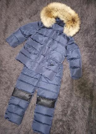 Зимний пуховой костюм комбинезон куртка il gufo