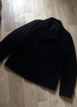 Шерстяное пальто calvin klein jeans
