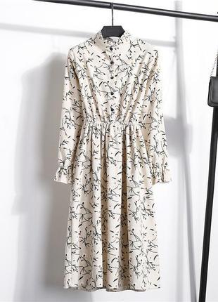 Вельветовое платье s и м