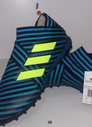 Нов. бутсы сороконожки adidas nemeziz tango 17+ 360 agility tf football boots legend. ориг