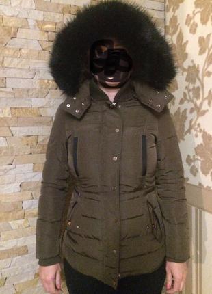 Зимняя тёплая куртка пуховик