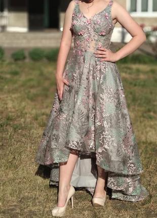 Выпускное, вечернее платье 2 длины