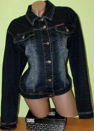 Джинсовая куртка, батал, замеры