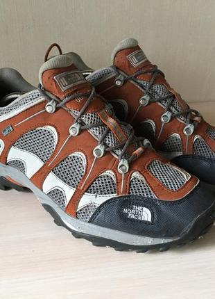 Треккинговые кроссовки the north face gore-tex tnf оригинал ботинки
