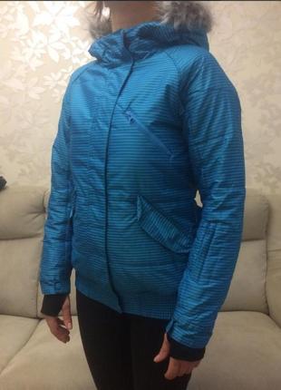 Куртка лыжная, для сноубординга, спортивная