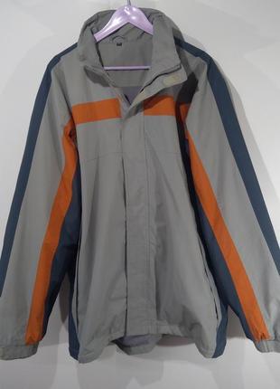 Спортивная куртка на флисовой подкладке размер xxl