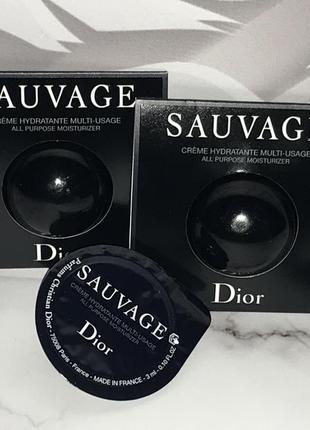 Dior sauvage мужской крем для лица