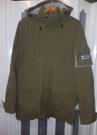 """Куртка """"halti"""" dry quick (финляндия) с капюшоном."""
