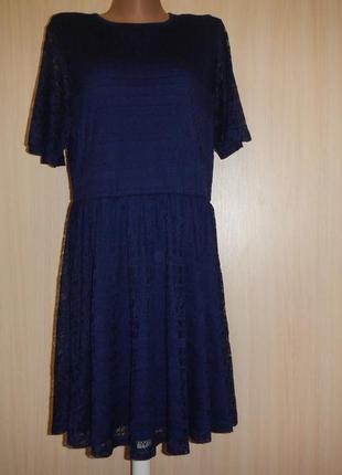 Нарядное гипюровое платье asos p.18