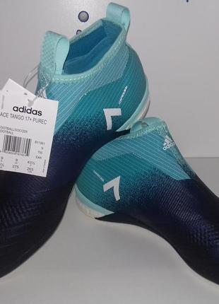 Новые бутсы футзалки adidas ace tango 17+ pure control in football boots. оригинал.