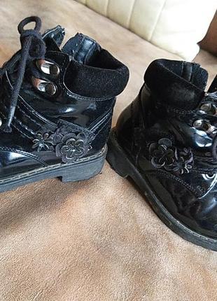 Лакові черевички осінні
