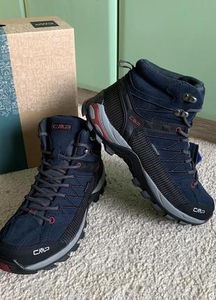Мужские оригинальные зимние термо ботинки cmp rigel mid trekking shoes wp