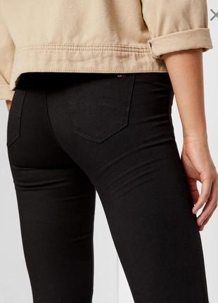 Чёрные джинсы tommy hilfiger оригинал, скинни