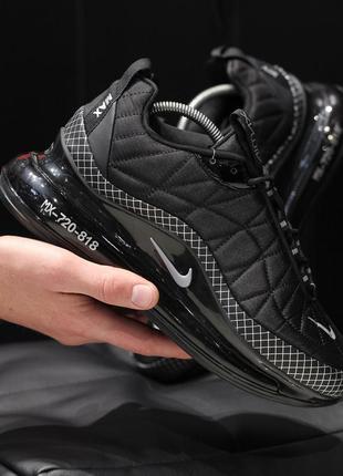 Шикарные мужские кроссовки nike air max 720 термо полуботинки😃 (осень евро-зима)