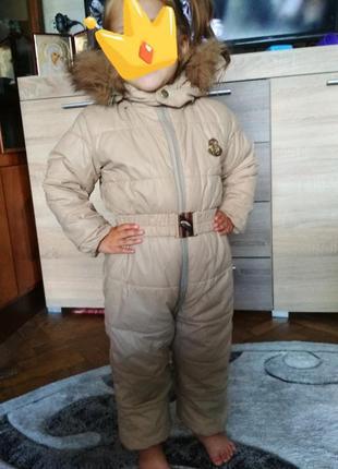 Ціну знижено! зимний комбинезон moncler, зимовий комбінезон, костюм