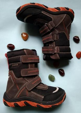 Ботинки сапоги термо gioseppo испания мембрана tex замша