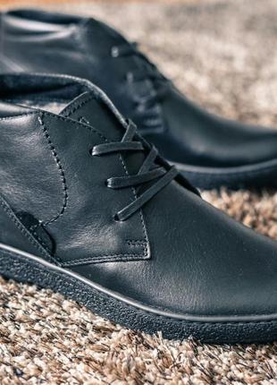 Ботинки зимові чоловічі з натуральної шкіри