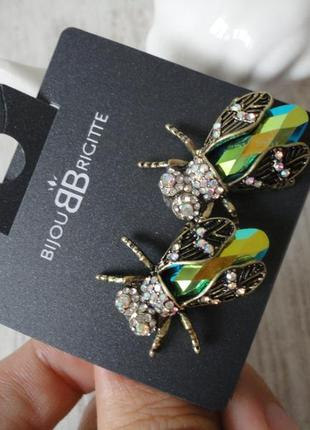 Серьги bijou brigitte с биркой для эпатажных образов! привезены из германии