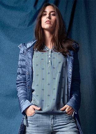 Стильная блузка-туника из вискозы tchibo германия