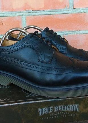 Dr.martens туфли броги полуботинки кожаные оригинал (41)