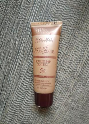 Тональный крем eveline cosmetics touch of cashemere