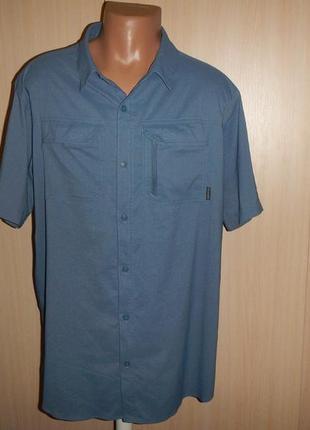 Трекинговая тенниска рубашка columbia p.xl