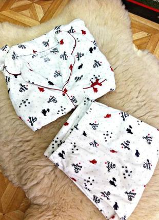 Новый брендовый уютный и тёплый домашний костюм женский,пижама большого 22\24 размера
