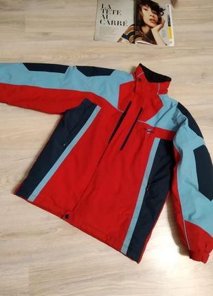 Тёплая лыжная зимняя куртка парка