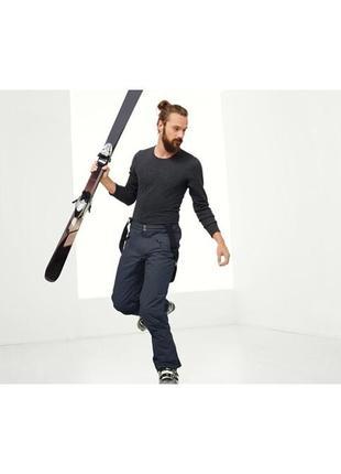 Шикарные высокотехнологичные мужские лыжные штаны,брюки от тсм tchibo (чибо),р. с, л