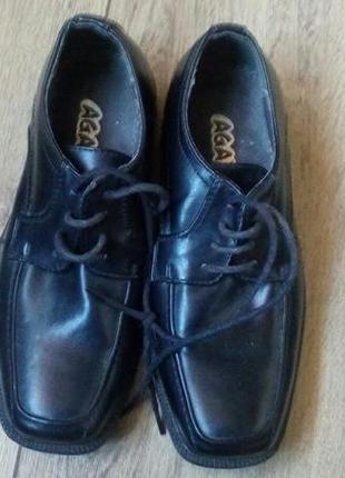 Кожаные туфли  agaxy