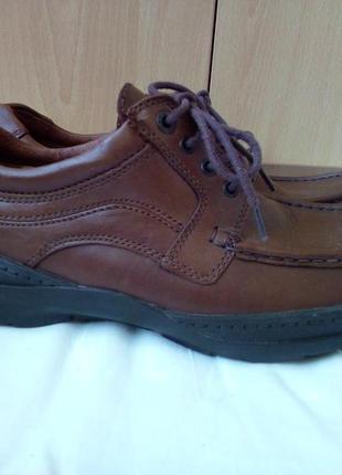 Туфли осенние кожаные clarks